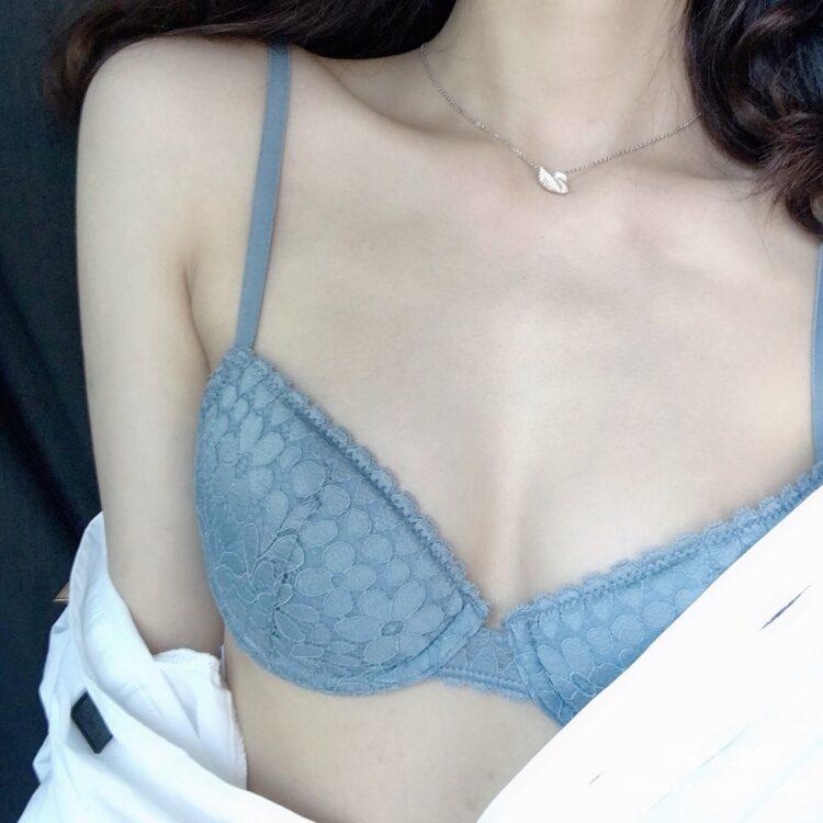 好奇蜜斯性感法式文胸胸罩套装 一大波美胸来袭~