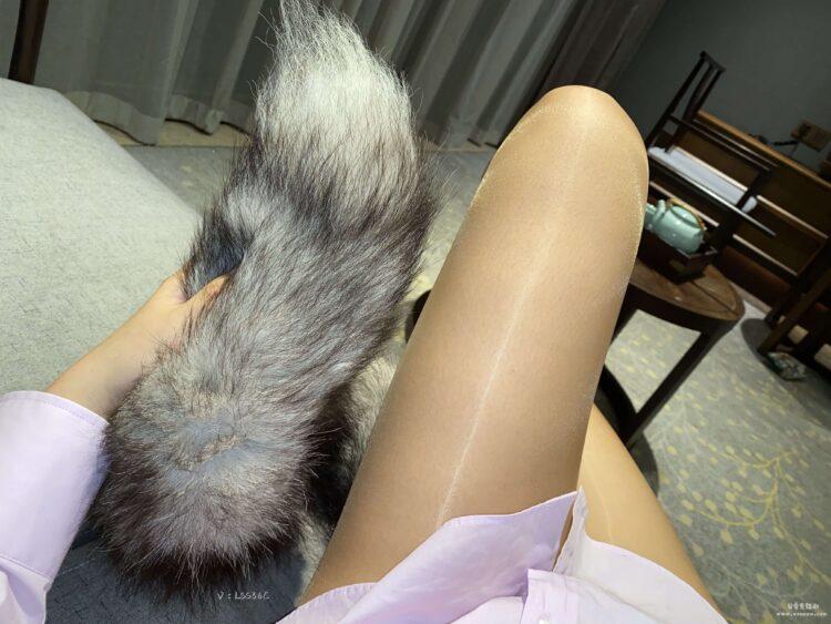 涞觅极光开裆免脱油亮超薄性感连裤袜丝袜 特定光线下真的美到爆