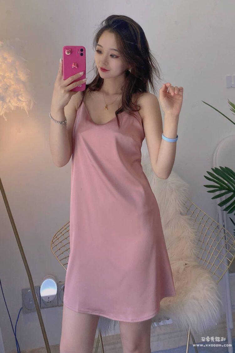 丝绸吊带性感睡衣睡裙 穿着睡觉简直不要太舒服