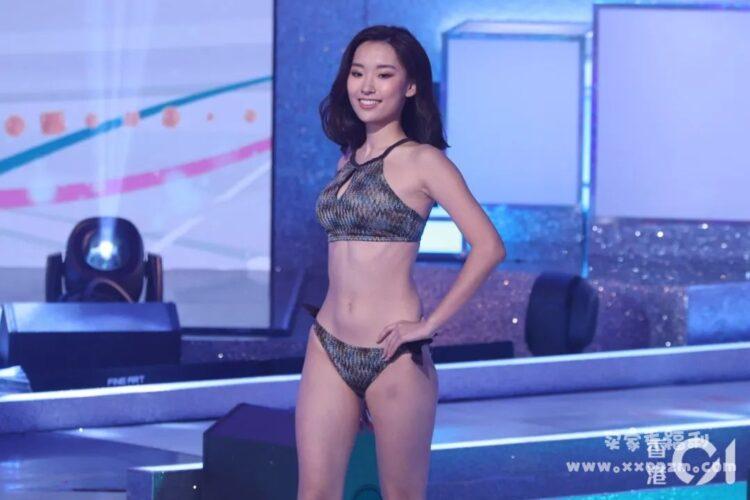 今年的香港小姐12强,颜值居然在线