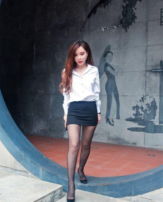 黑丝短裙小姐姐街拍写真视频下载【279P/1V/2.5GB】